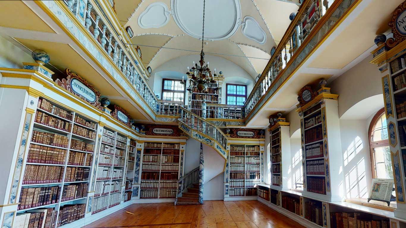 Bibliothek Stift Wilten