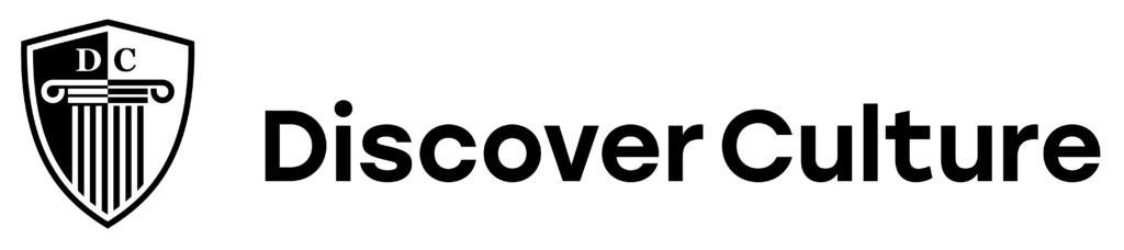 Discover Culture Logo quer black quer