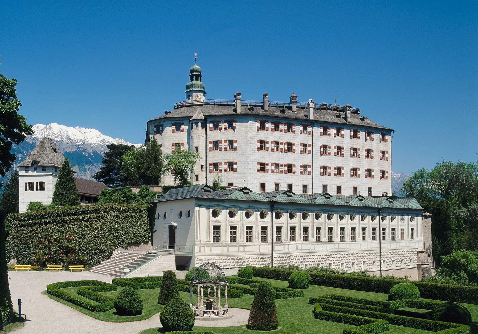 Schloss Ambras Innsbruck Hochschloss web