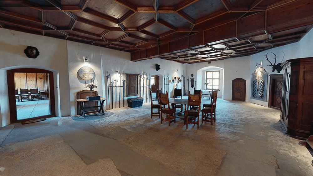 Builders rooms, Tratzberg Castle